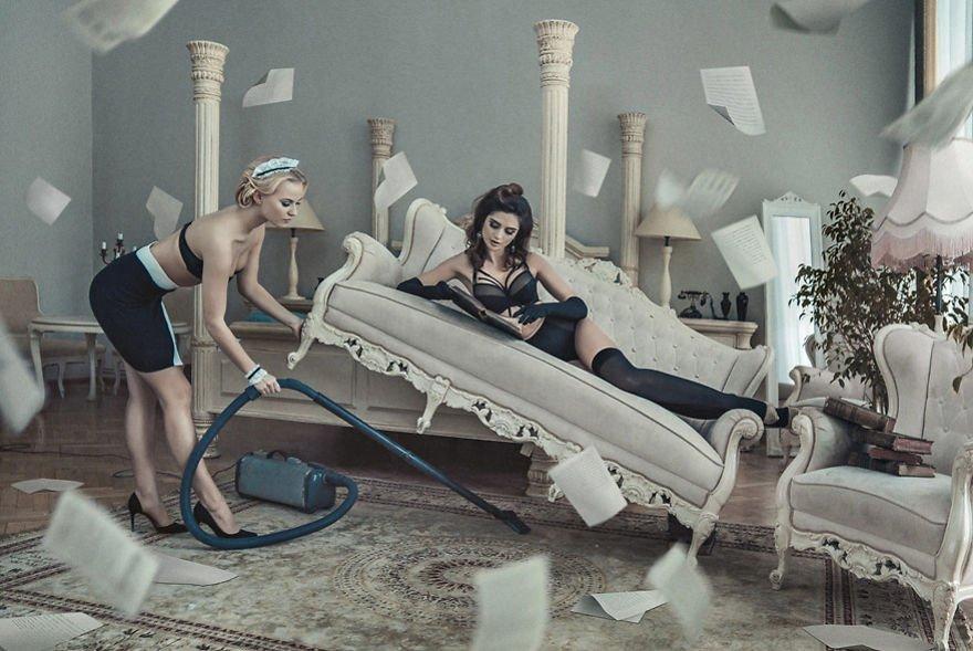 In Her Room II Konrad Bak Surreal Photography