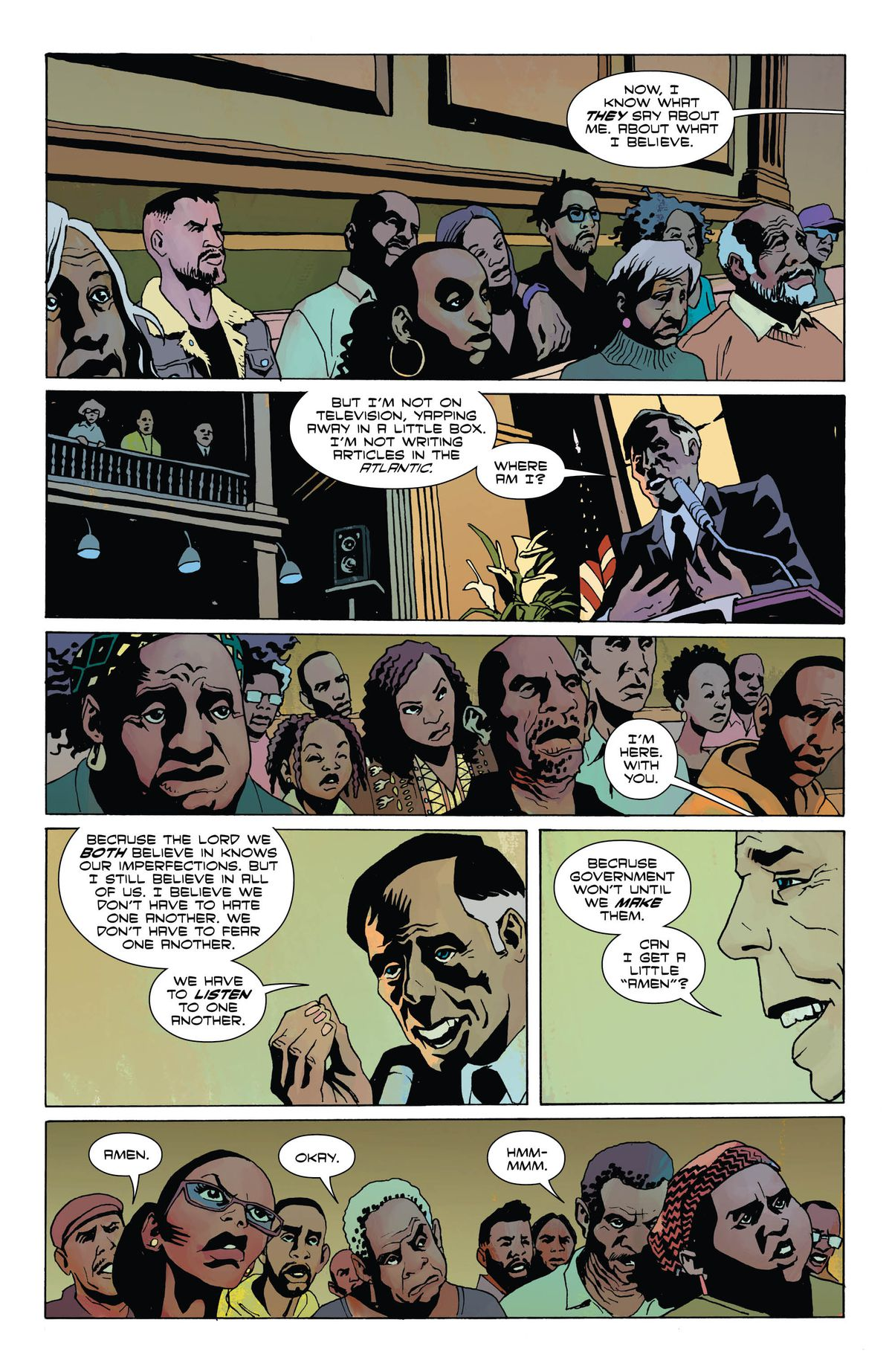 American Carnage A Crime Comics For Today's Political Age 3