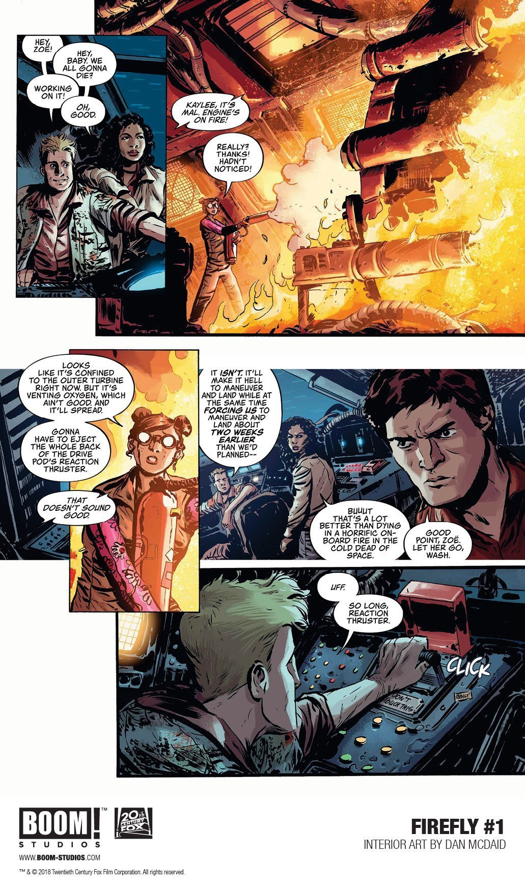 Firefly: A Space Western Comics For Adrenaline Junkies 3