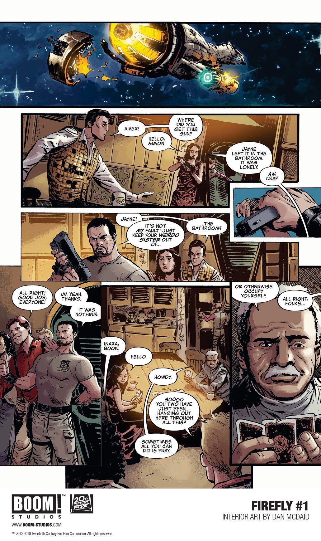 Firefly: A Space Western Comics For Adrenaline Junkies 5