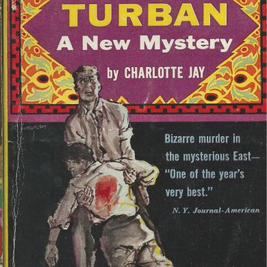 yellow turban mystery book cover Charlotte Jay