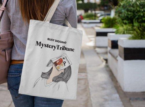 Mystery Tribune Tote Bag M4