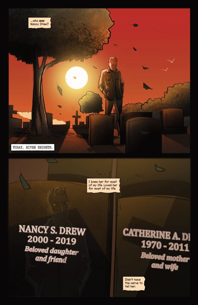 Who Killed Nancy Drew? Noir Comics Featuring Death of Teen Detective