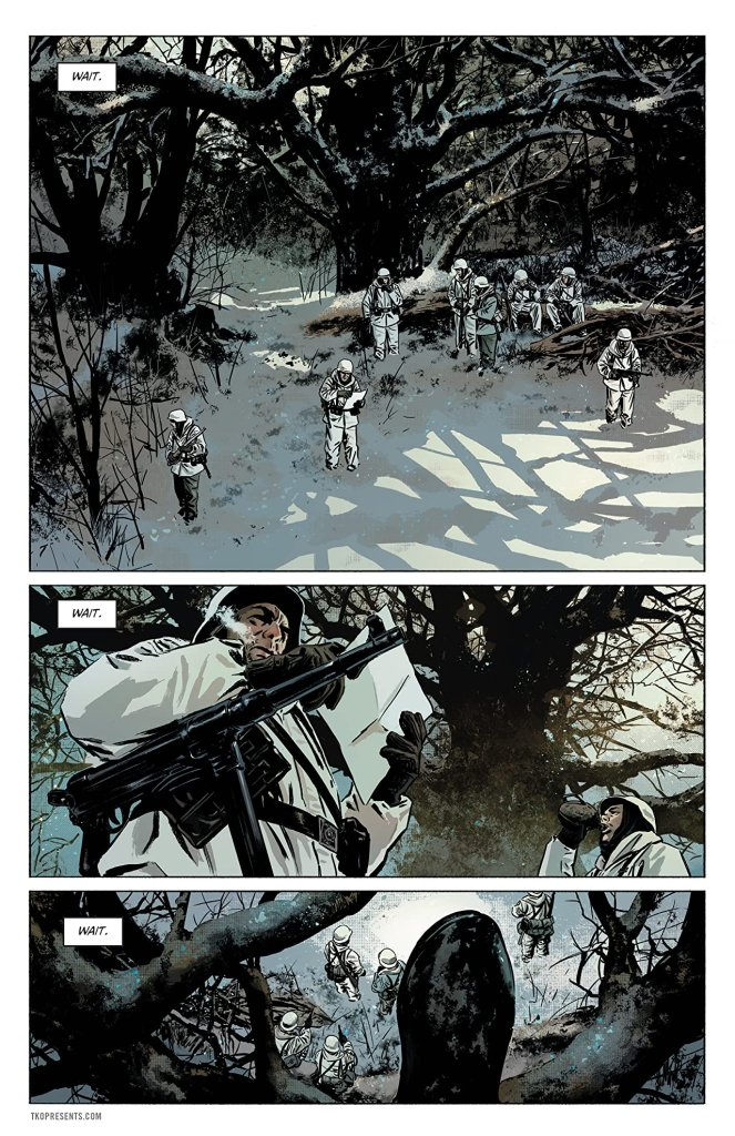 Sara A Solid World War II Thriller Comics With A Female Lead 1
