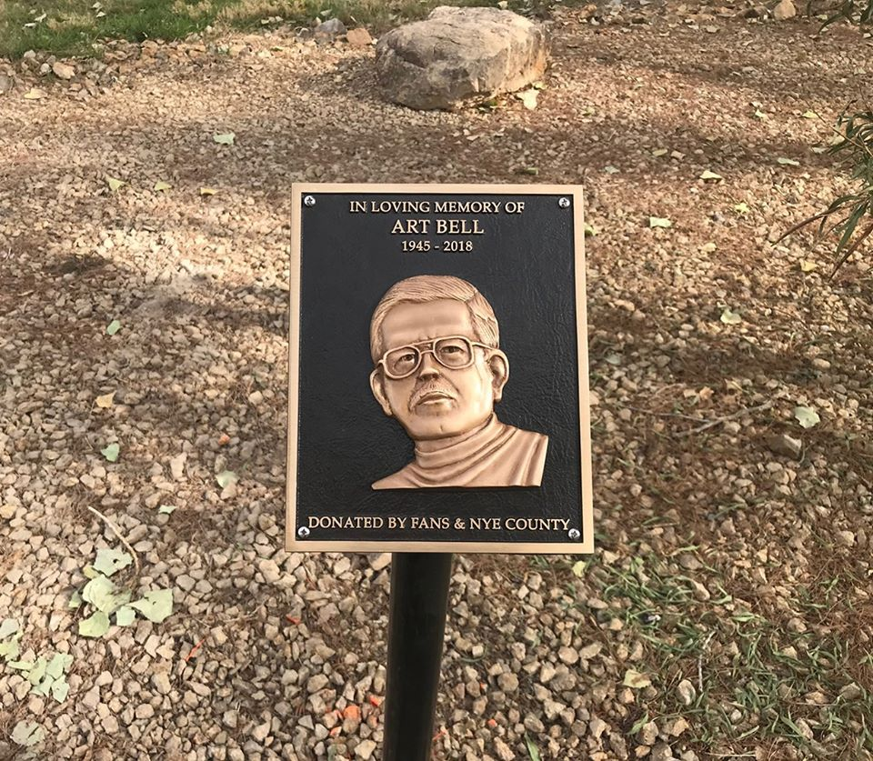 Art Bell plaque