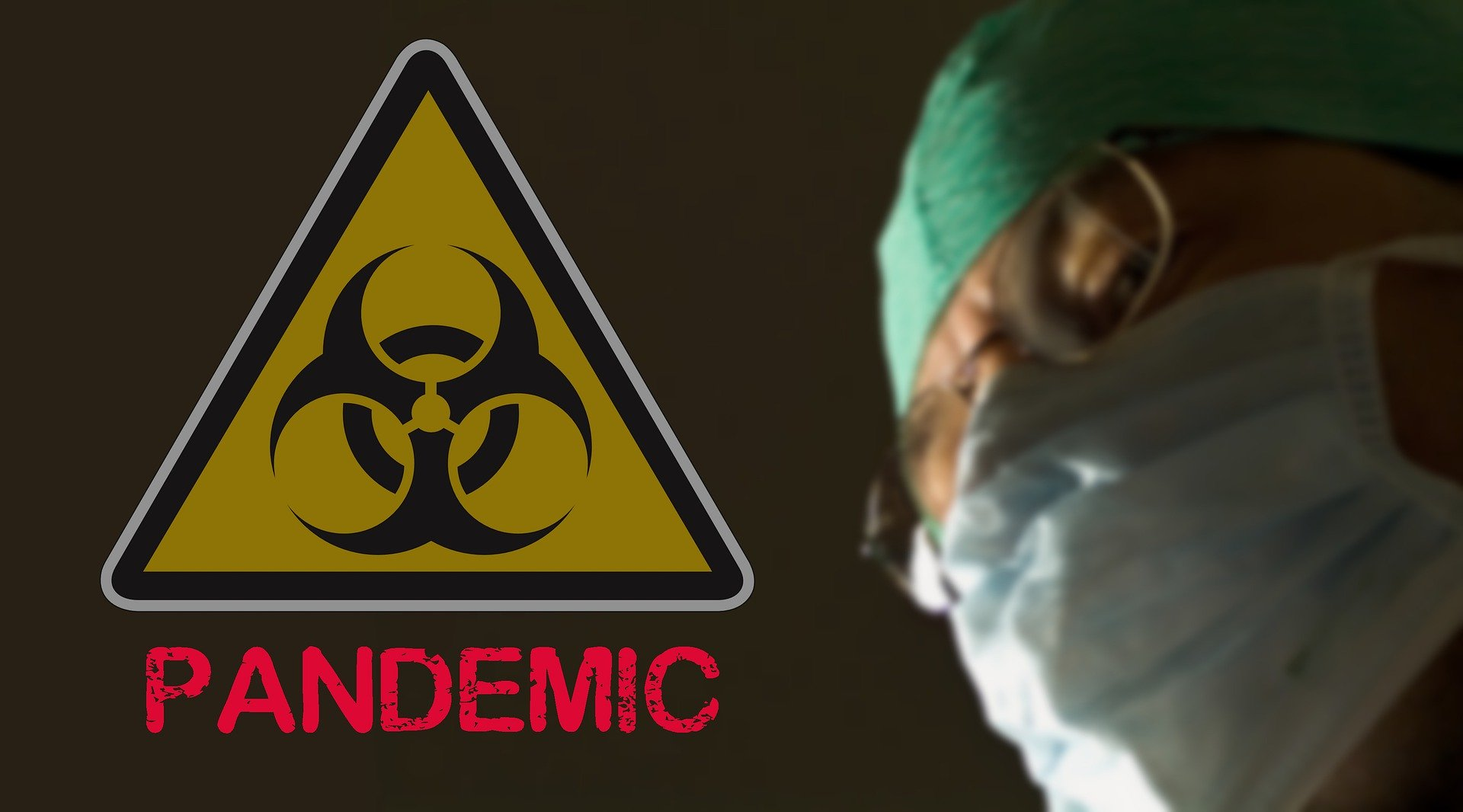 Coronavirus pandemic graphic