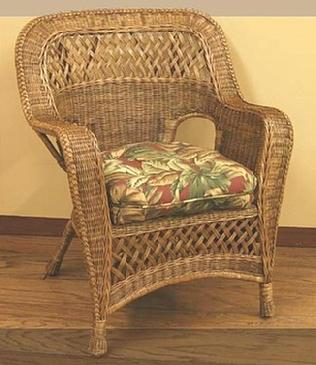 White Wicker Indoor Chairs Natural Brown Rattan Chairs