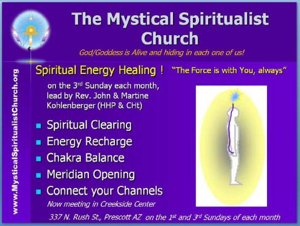 「Mystical Spiritualist Church とは」の画像検索結果