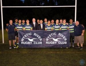 7s Team with Malden Mayor Christensen