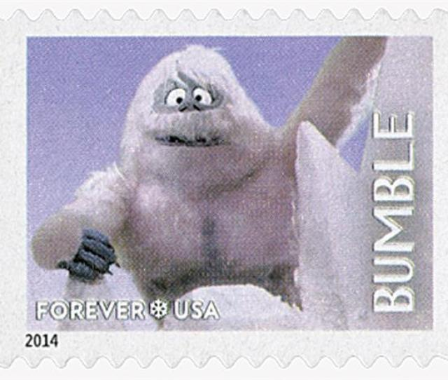 First Class Forever Stamp Rudolph The Red Nosed Reindeer Bumble