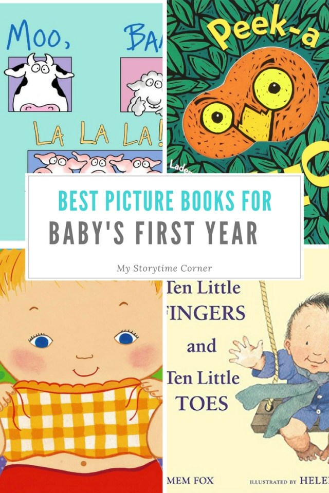 Best Picture Books for Baby's First Year