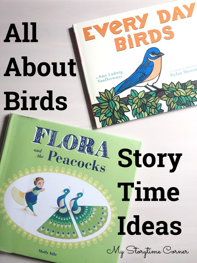 birds bird preschool library story time circle time group time