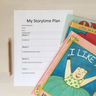My Storytime Plan