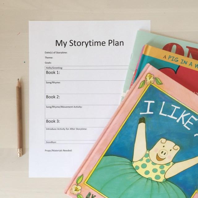 My Storytime Plan