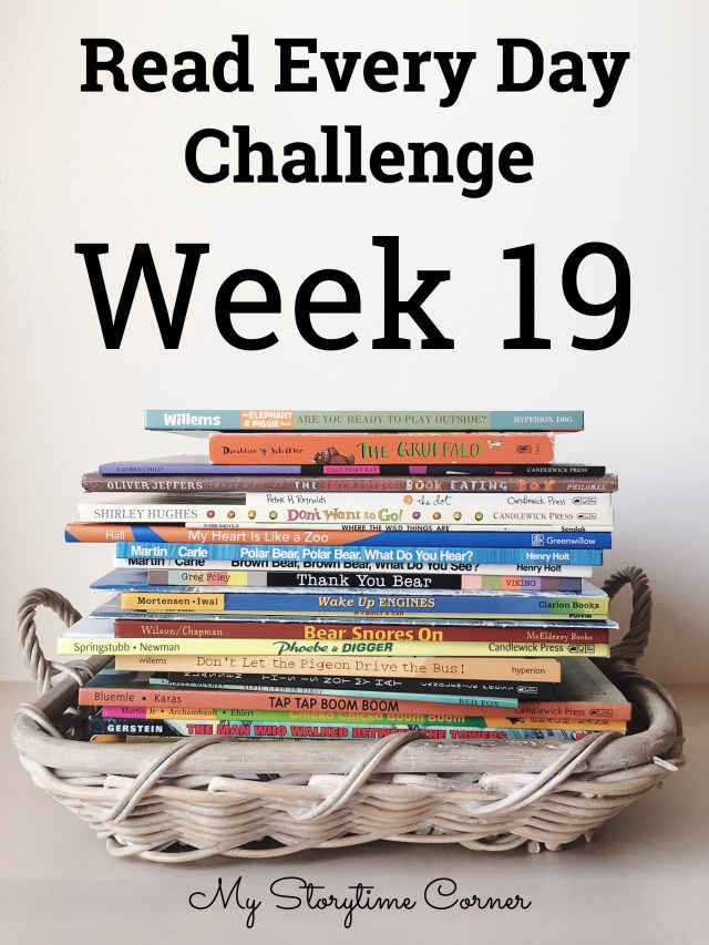 a read a day challenge week 19