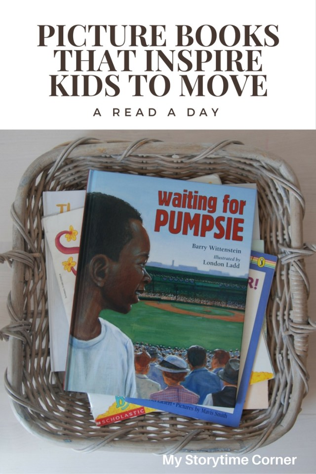 Picture Books about sports and active kids
