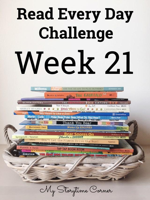 a read a day week 21