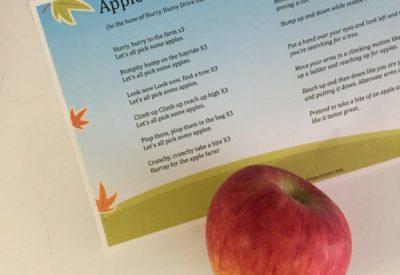 Apple Farm Song and Printable