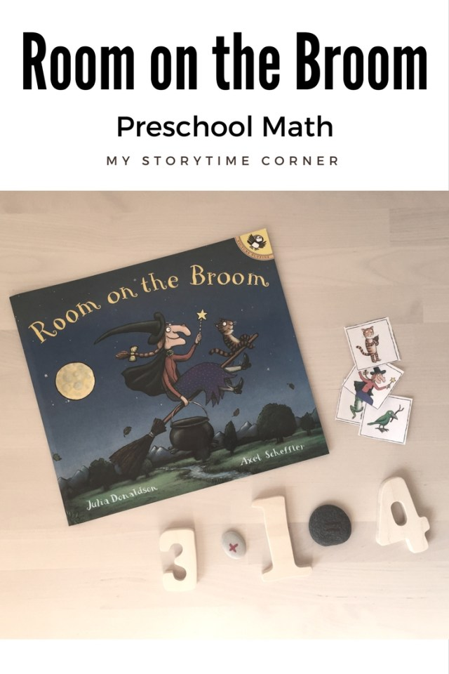 Room on the Broom Preschool Math Activity