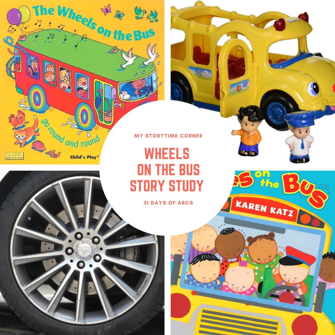 Wheels On The Bus Story Study For Toddlers