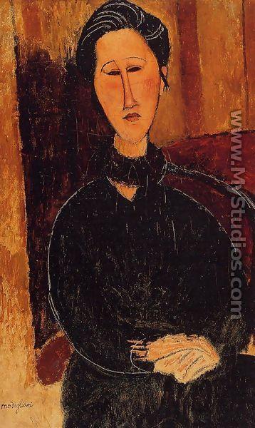 Anna Hanka Zabrowska By Amedeo Modigliani
