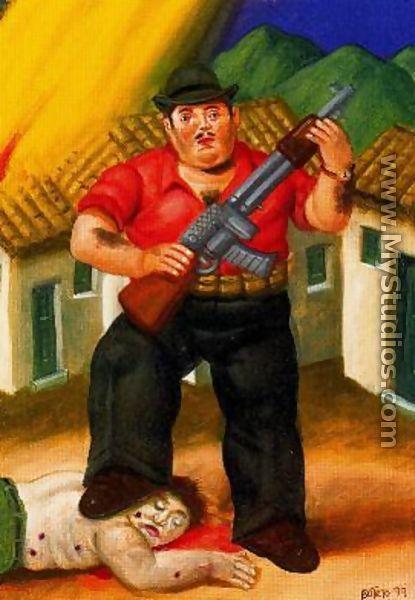 El Cazador - Fernando Botero
