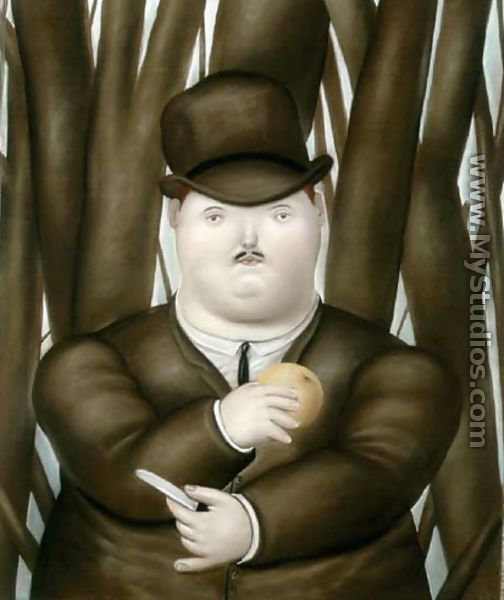 Man - Fernando Botero