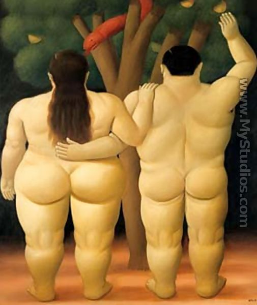 Adam and Eve - Fernando Botero