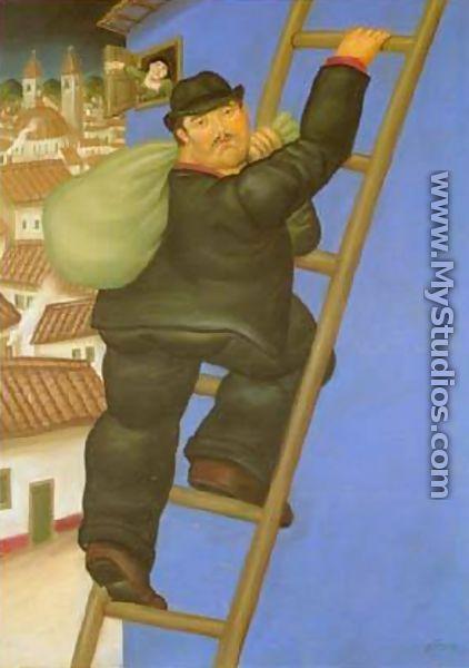 A Thief 1994 - Fernando Botero