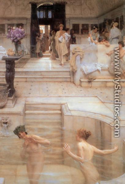 Μια αγαπημένη συνήθεια, 1909 - Sir Lawrence Alma-Tadema