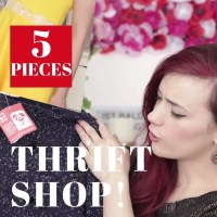 5 Thrift Shop Pieces Mini Haul, Try On & How to Style