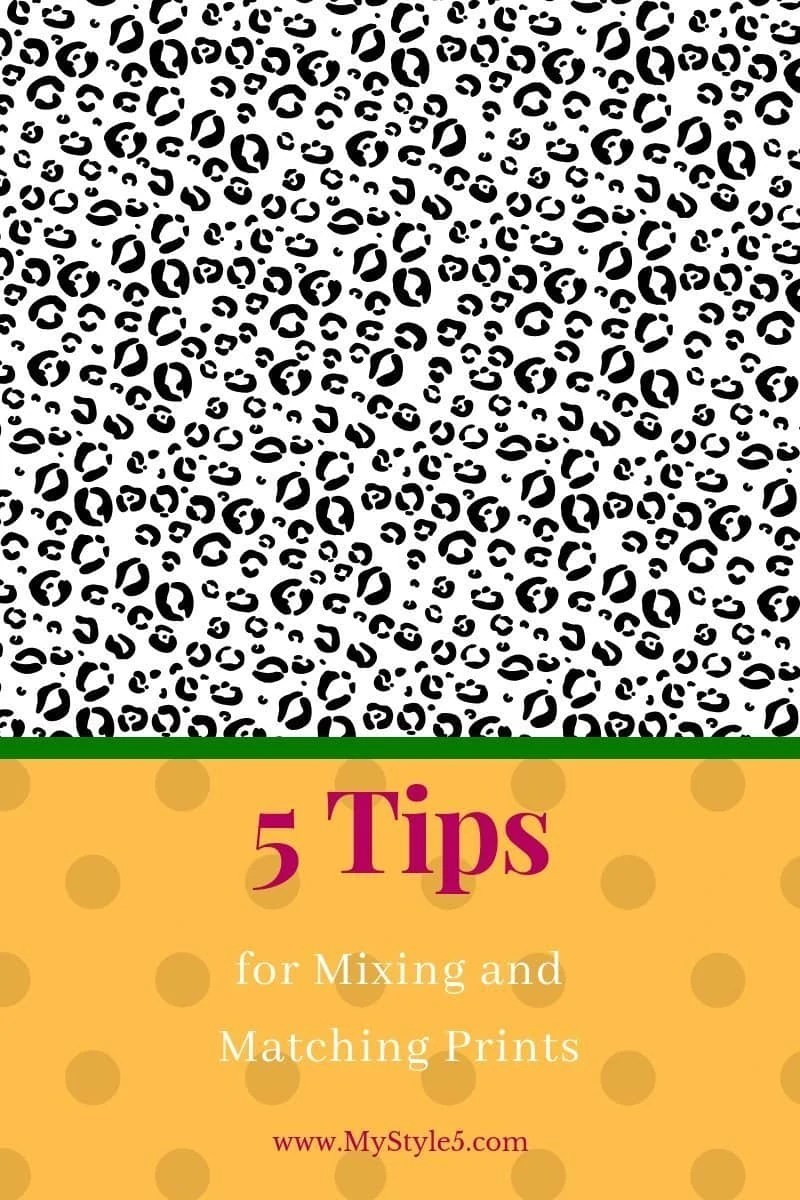 5 Tips for mixing prints with style