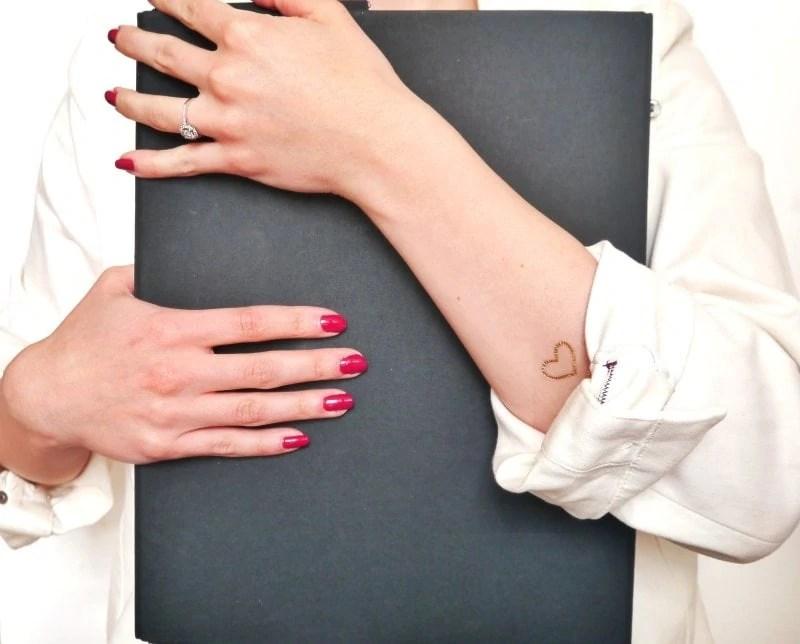 women's hands speak of their elegance