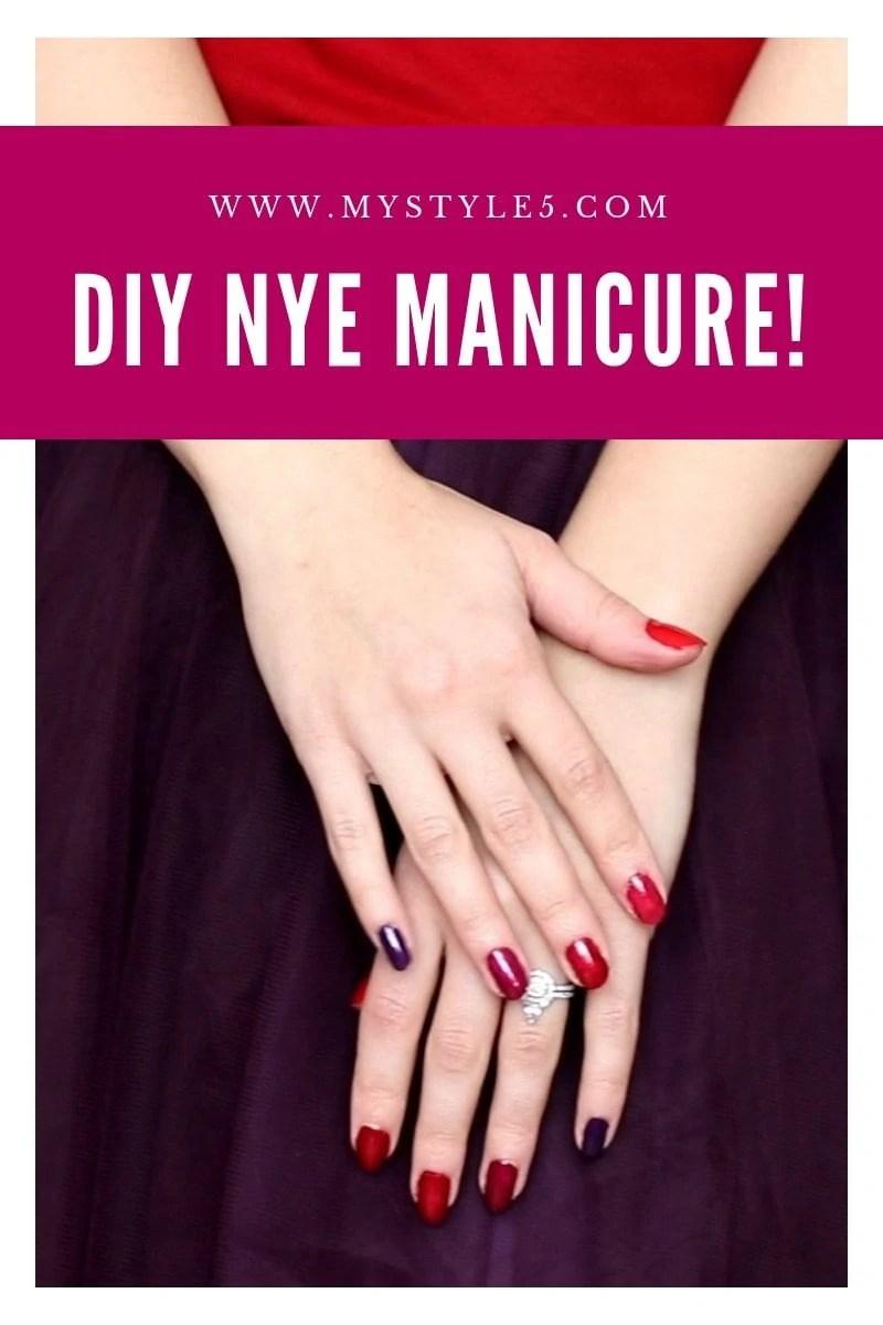 www.MyStyle5.com DIY Manicure