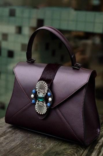 structured, elegant bag