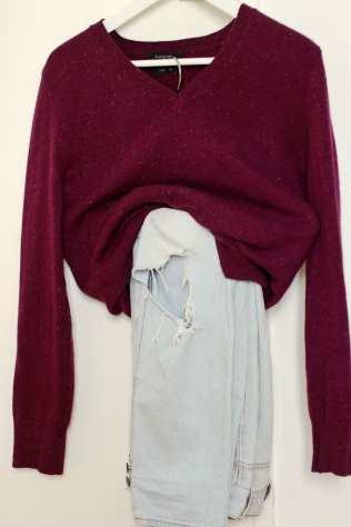 one sweater three ways