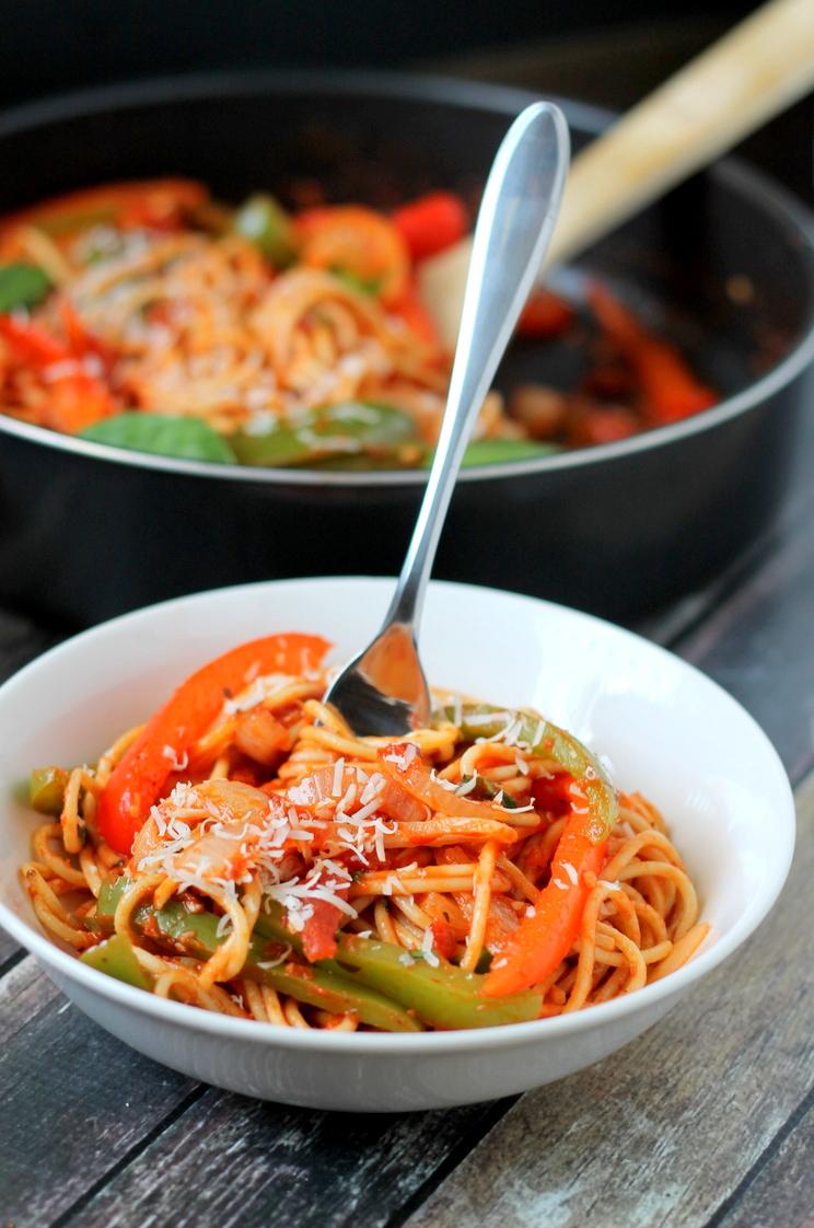 Slikovni rezultat za spaghetti with onion sauce
