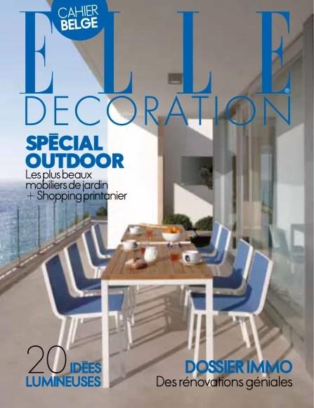 Elle Decor Magazine August 2016 Usa