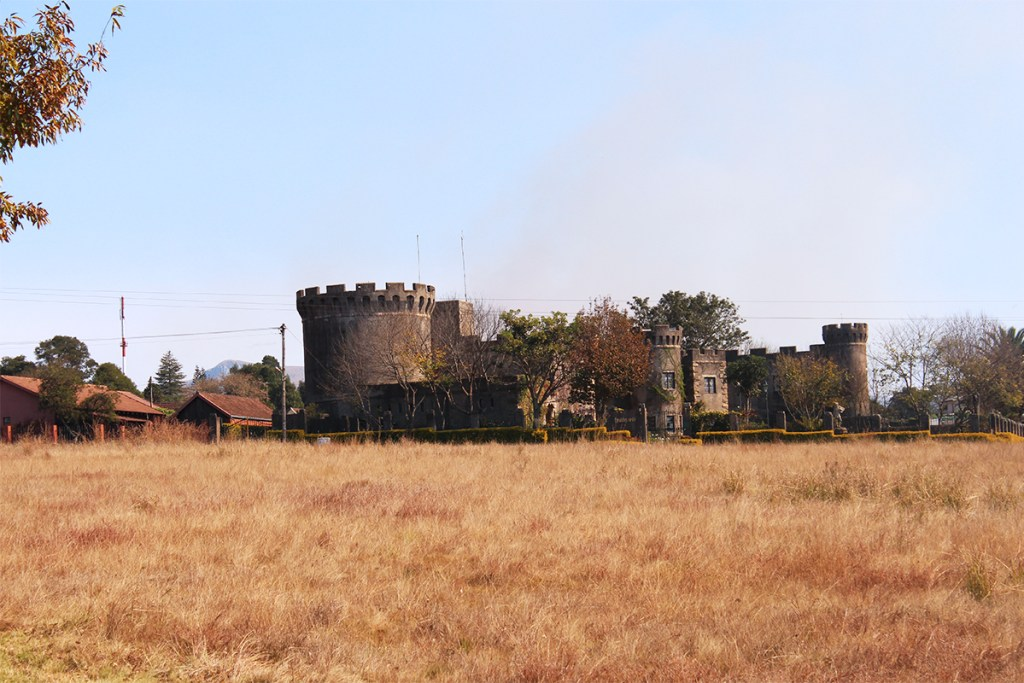 Our first sighting of the Flycatcher Castle in Graskop.