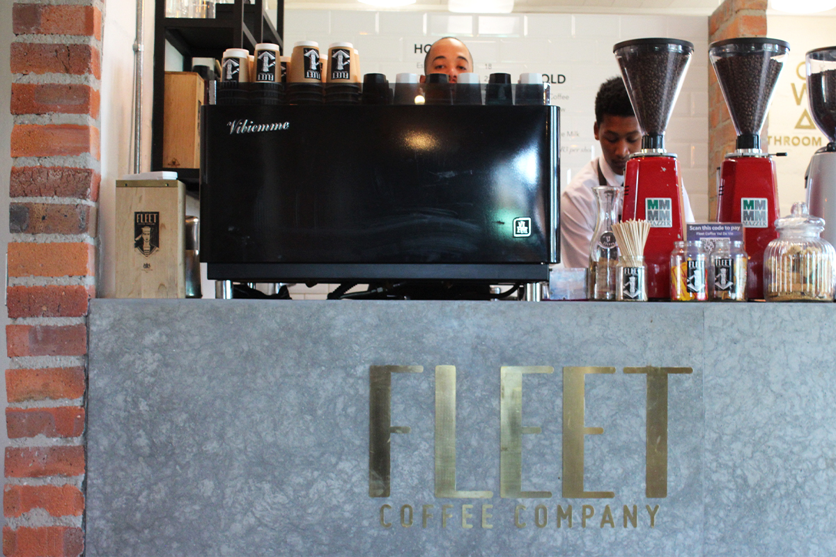 How to make a Flat White with Fleet Coffee