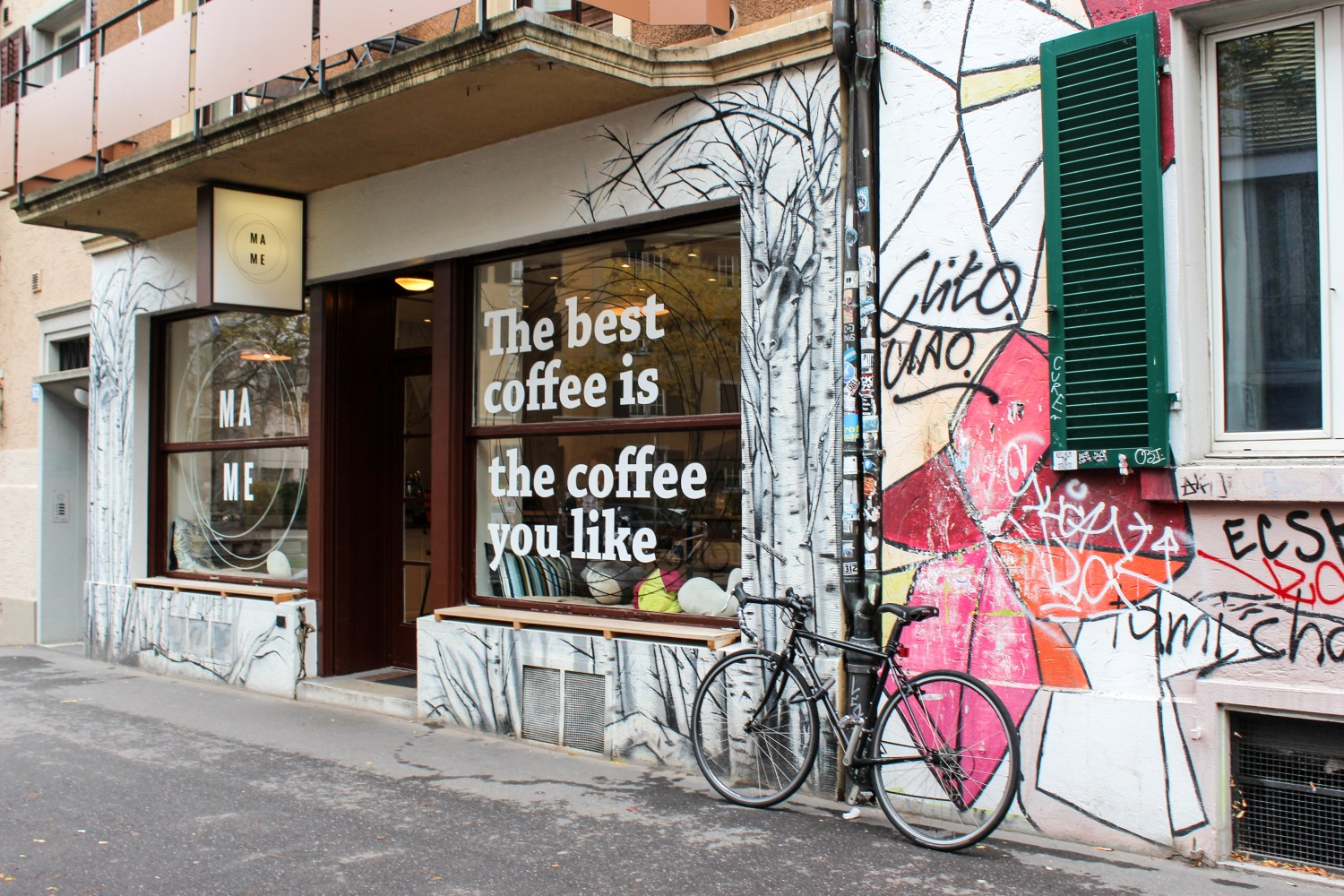 MAME Coffee Shop in Zurich – A Home away from Home