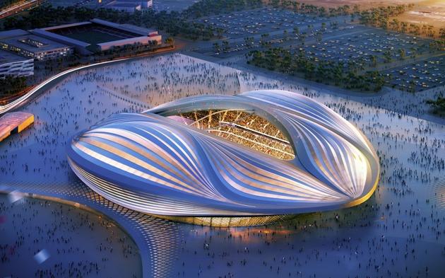 Stade Doa-Zaha Hadid Architects