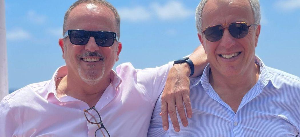 Jacques Agid et Philippe Garcia