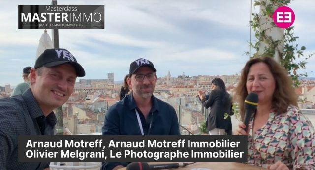 Arnaud Motreff et Olivier Melgrani
