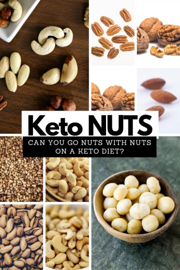 Can you go nuts with nuts on a keto diet? Read here! #keto #ketodiet #ketonuts #ketofriendly