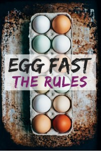 Egg Fast The Rules