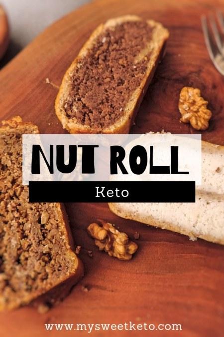 What else to do but adapt the original nut roll recipe to become keto diet friendly? I've prepared walnut, hazelnut and coconut rolls. #keto #nutroll #ketogenic #recipe #ketodessert