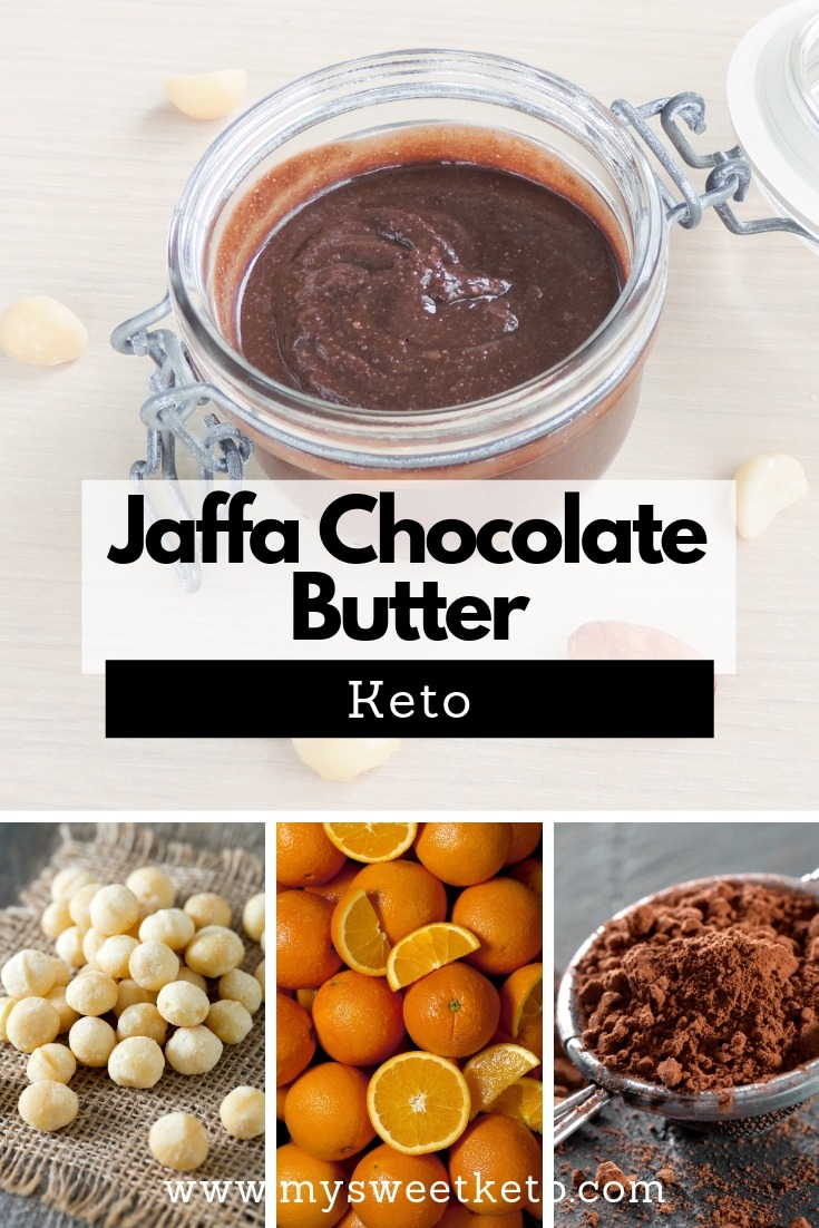 If you've ever been a fan of orange-chocolate combination (Jaffa Cakes, for example), you should love this Jaffa Chocolate Butter recipe! #keto #ketogenic #ketodessert #ketorecipe