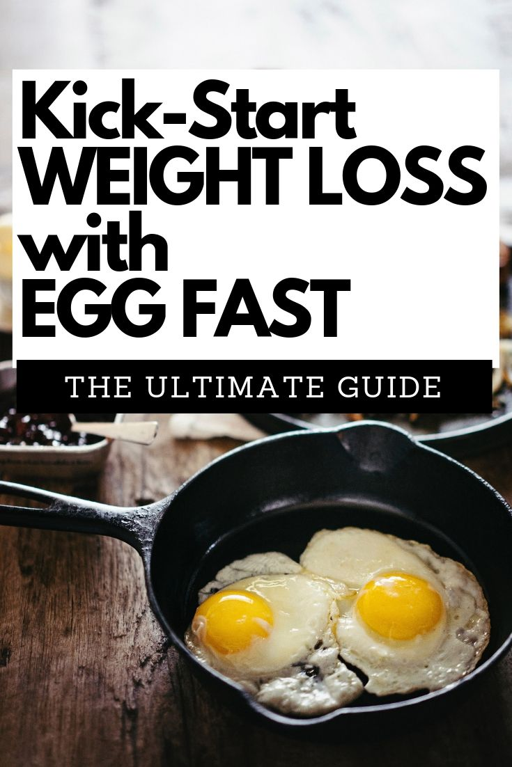 Kick start your weight loss with this ultimate guide to egg fasting. Keto approved.
