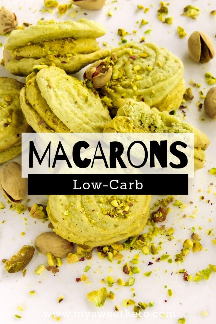 Low-Carb/Keto Macarons. Delicate preparation or not, I didn't complicate much with low-carb/keto macarons. Texture-wise, they're fine. Taste-wise, they are simply perfect.